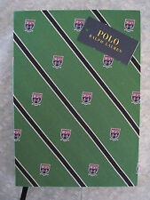 Polo RALPH LAUREN POLO Collegiate Crest Blank Motif Journal Notebook Diary