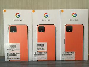 Google Pixel 4 XL G020J - 128GB - Orange (Unlocked) (Single SIM)