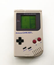Refurbished Gray Nintendo Game Boy Original DMG-01 Console + Game Card + Charger
