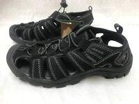 New Mens Denali Strainer II Adventrue Sandals Style nm0024a Black 72D dr