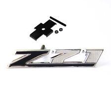 Black GENUINE Grille Z71 Emblem for GM Chevrolet Silverado Sierra Tahoe UW New