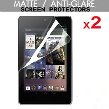 2 Pack of ANTI-GLARE / MATTE Screen Protector Guards for Google Nexus 7 1st Gen.