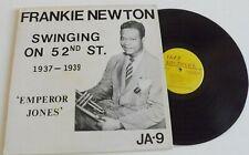 Frankie Newton – Swinging On 52nd Street 1937-1939 Vinyl LP JA-9