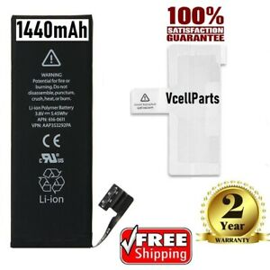 New 1440 mAh Internal Replacement 3.8V Li-ion Battery For iPhone 5 5G + Adhesive