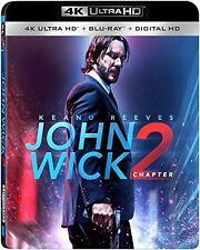 JOHN WICK : CHAPTER 2  (4K ULTRA HD) - Blu Ray -  Region free