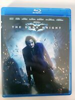 The Dark Knight (Blu-ray, 2008) Christian Bale Heath Ledger Batman SHIP FAST