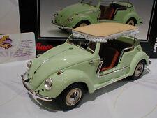 """Schuco 00080 # Volkswagen VW Käfer Jolly Bus Baujahr 1970 in """" hellgrün """" 1:18"""