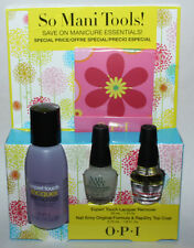 OPI So Mani Tools! Nail Envy/Rapidry/Lacquer Remover/Nail File Matchbook/Wipes *