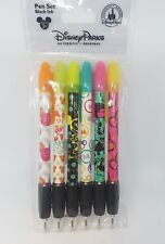 Disney Parks Minnie Mouse  6 Pack Pen Set - NEW blank ink