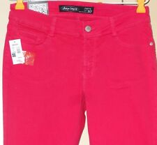 Jay Jays Size 10 Girls Womens Jeggings Pink Jeans Super Slim Fit 30 x 32 New NWT