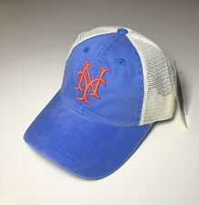 "best service ff02b 8dff5 ""Brand New"" NEW YORK METS Vintage Mesh Snapback Hat. Fade Royal Color · """