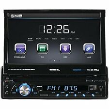 "Ssl Sd726mb Car Dvd Player - 7"" Touchscreen Lcd - Single Din - Dvd Video, Mp4,"
