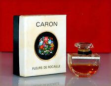 """Caron - Flacon de collection """"Fleurs de rocaille"""" (avec son boîtage)"""