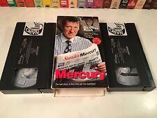 * Mercury Australian TV Series Journalism Drama VHS 1996 Geoffrey Rush 2-Tape