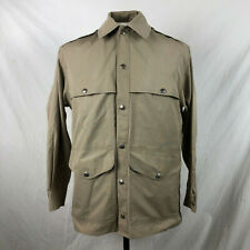 Vintage Cc Filson Co. L/S Button Up Work Shirt Large Beige Tan Vtg Rare Genuine