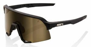 100% S3 Sunglasses -NEW- Performance Shield Lens + Case + Bonus Clear Lens