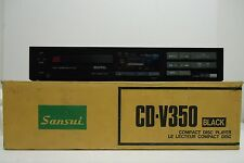 Vintage Sansui CD-V350 Compact disc Player Lettore CD - 1986 Made in Japan