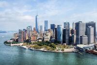 Aerial View World Trade Center WTC Lower Manhattan New York City NYC Photo Art P