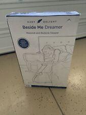 New In Box Baby Delight Beside Me Dreamer 2 in 1 Bassinet Bedside Co Sleeper