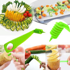 Kitchen Gadgets Vegetable Flower Potato Cutter Spiral Slicer Spiralizer Tool