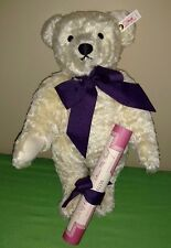 "Vintage 1994 Limited Edition Steiff ""Charlotte"" White Bear for Hamleys ~ NEW wit"