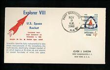 al History Espacio Satellite Launch Explorer VIII 1960 Puerto CAÑAVERAL FL