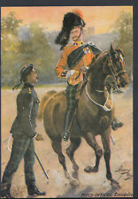 Military Postcard - The Black Watch Raised in 1739, Field Officer  - RT2379