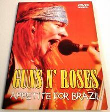DVD GUNS N' ROSES - APPETITE FOR BRAZIL (NTSC MODE)