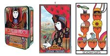 Aquarian Tarot Pocket Tin Box Medieval Modern Symbolism NEW 78 cards D Palladini