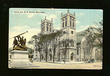 Grand Ave. M. E. Church, Milwaukee - Postmarked 1918 - Mailed to Vermillion, SD