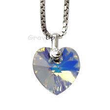 Herz SWAROVSKI-Element mit Venezianer-Kette  925 Silber  as540
