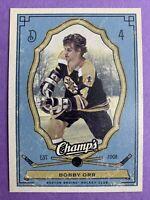 2009-10 Upper Deck Champ's Hockey #4 Bobby Orr Boston Bruins