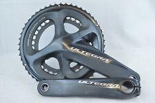 Shimano Ultegra R8000 Bielas 50/34 11 velocidades Manivela Longitud 172.5mm pedalier bicicleta