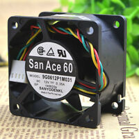 Dell Optiplex SX280 GX620 745 755 San Ace 60 Case Fan 9G0612P1M031 U1295 USFF