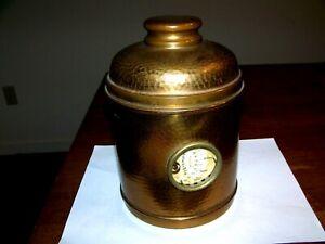 Antique Brass Humidor