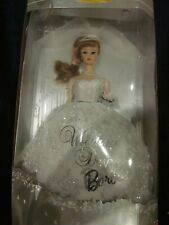 Mattel Wedding Day Barbie 1961 Fasion and Doll Reproduction Collector Edition Ne