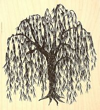 Willow Tree Wood Mounted Rubber Stamp JUDIKINS 3782G New