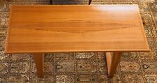 """Sapele solid wood dining room table - L76""""xW36""""xH31&# 034;."""