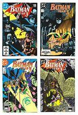 BATMAN #439 YEAR 3 PART 1- 4 full set  (DC 1989)   NM cgc. 9.4/9.6.