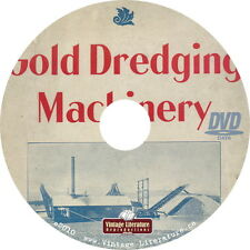1901 Ridson Gold Dredging { Mining and drilling Equipment } Catalog on DVD