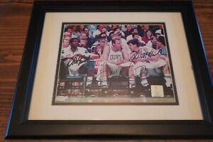 LARRY BIRD - KEVIN McHALE - ROBERT PARISH - Triple 8x10 Auto w/COA Celtics HOF