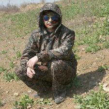 Men Outdoor sports Hunting Fishing Wind-proof Rain-proof Jacket Pants Suit Set
