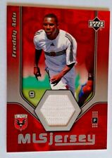 2005 Upper Deck MLS Game Worn Jersey Patch Freddy Adu