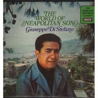 Giuseppe Di Stefano LP Vinyle Dirty Of Neapolitan Song / Decca Spa 313 Neuf