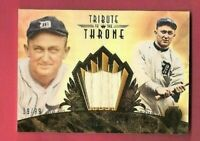 TY COBB 2013 TOPPS TRIBUTE GAME USED BAT CARD #89/99 DETROIT TIGERS HALL OF FAME