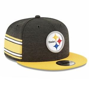 Pittsburgh Steelers New Era 9Fifty On Field Home Adjustable Cap Hat $35