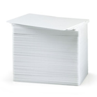 Premium Blank White PVC Cards, 760 Micron, CR80 Credit Card Size, Printable Pack