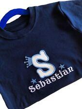 Personalised Baby/Kids/Toddler/Children T-shirt Appliqué Boy BirthdayOutfit Gift
