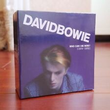 """NEW SEALED! David Bowie """"Who Can I Be Now? (1974-1976)"""" 12 CD Box Set Collection"""