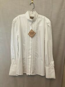 NWT Frontier Classics Womens White Victorian Pioneer Grace Blouse Shirt Sz XL